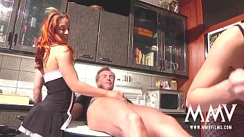 MMV FILMS Hot German babes in the kitchen