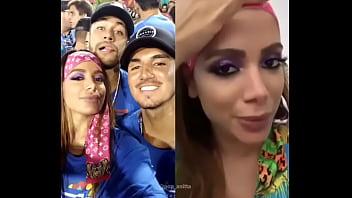 Brazilian Anita funk singer and a surfer champion - V1