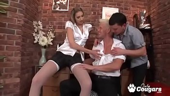 Kitty Jane And Her Two Bi Friends Fuck Each Other In The Ass
