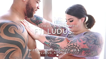 BBW Sugarbooty creampied by BBC Ludus