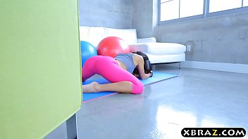 Yoga Teen Megan Rain Has A Perfect Ass And Gets Fucked