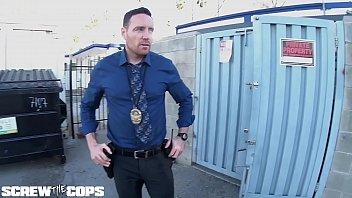 Screw the Cops - Latina bad girl gives a cop a blowjob 6 min