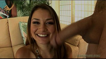Allie Haze gets the great white pipe!