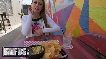 Publick Pickups - (Jill Kassidy) - Cafe Cutie Needs Cash - MOFOS 11 min