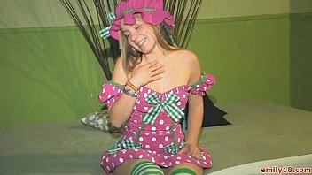 Emily 18 in a cute dress