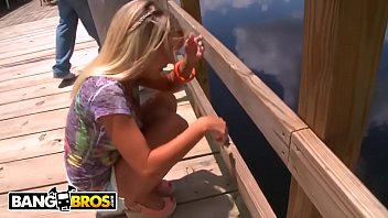 BANGBROS - That One Time We Picked Up Young Blonde Cutie Tessa Taylor In The Everglades...