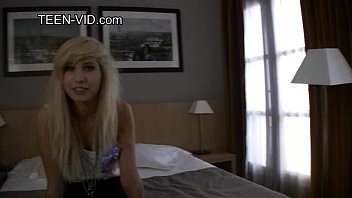 Blond Emo Teen Shows Pussy