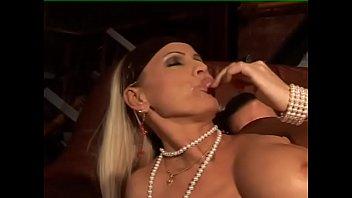 Italian Blondie Opens Her Legs For Sex