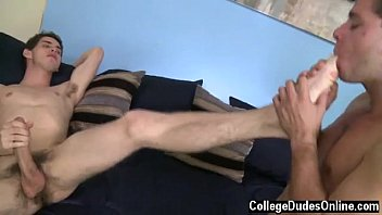 Aj gay - Straight friends have gay bareback he goes down on him, pulling ajs