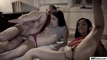 Pervert uncle strikes again - Jaye Summers and Emily Willis - PURE TABOO