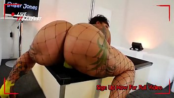 Bbw booty video - Big booty ebony bbw sugar jones dj da west fan video strippermusicchallenge