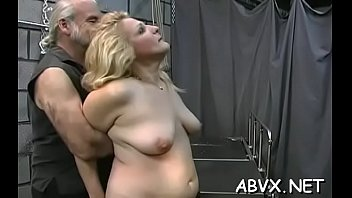 Naked chicks roughly playing in servitude xxx a...