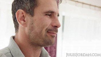 Jules Jordan - Kenzie Taylor's Fantasy Comes True, She Gets Manuel's Cock In Her Ass!