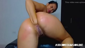 Curvy sexy babe fist hard her asshole and gape. more privatecams on asscorecums.online
