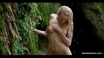 80 nude Emma goes deep in the woods - baremaidens
