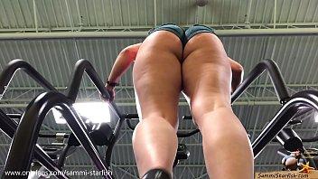 Pawg Ass – Gym Stair Climber