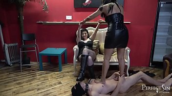 You're Here To Beg for Mercy - Demanding Goddesses Mistress Mera and Mistress Clarisa