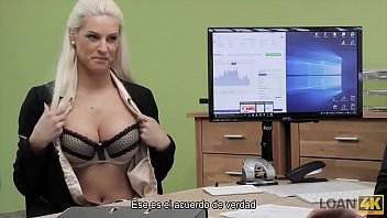 LOAN4K. Negociando con la dueña de la tienda de lencería desnuda pornhub video