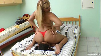 Terribly Huge Ass and Helpless Girl - Ass that brings a lot of pain and suffering to the slaves