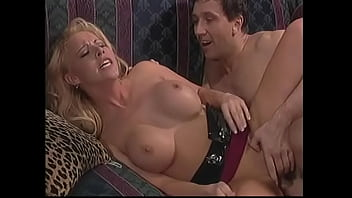Big Cock Guy Gets Sucked By Big Titty Blonde Kelli Before Doggy Style Fucking