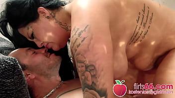 German chick AshleyCumstar gives him a German blowjob ang rimjob! Flirt66.com