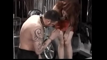 Naughty Redhead Mistress Mercy Shows Up In Her Tight Leather Dress To Punish A Lustful Stud Teasing And Pleasing With Her Big Round Tits