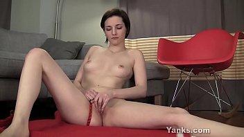 Yanks Tegan Mohr Humps Her Foot