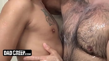Handsome Young Man Alex Montenegro Gives His Muscular Stepdad The Perfect Gift For Father's Day