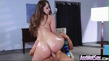 Anal Sex Tape With Big Oiled Round Butt Naughty Girl (Remy LaCroix) mov-27
