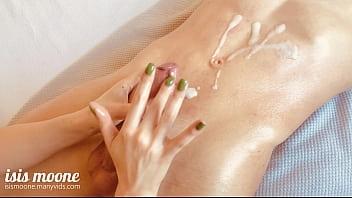 Best amateur cock massage with frenulum tease a...