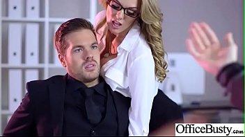 Busty Office Girl (Stacey Saran) Enjoy Hardcore Sex Scene video-28 7分钟