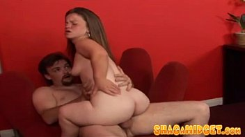 Free midget fucking video - Hairy midget snatch hardcore nailed