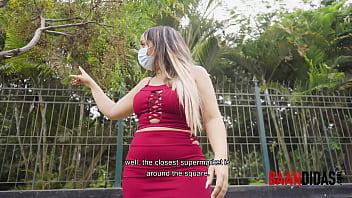 Venezolana cachonda encontrada en un parque es follada fácilmente.... BAANDIDA pillada thumbnail