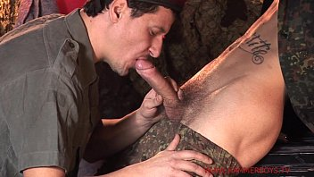 Huge dick Ben Tomme fucking older guy Rado Gota from Hammerboys TV