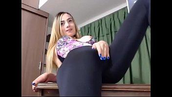 huge bulge. trans girl on nowcamgirls.com