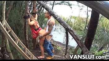 Kaylee Banks Deepthroating Bondage Sex