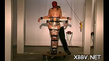 Tits in space xxx Horny woman gets love bubbles torture xxx in harsh bdsm video