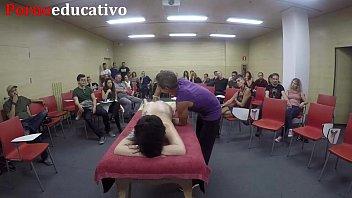Erotic anal massage class 3 20 min