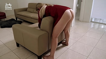 Fucking My Step Mom While She Is Stuck In The Couch - Cory Chase