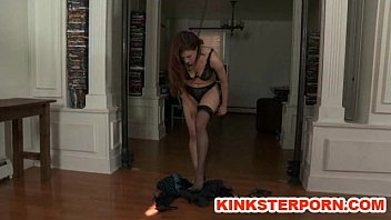 BDSM Slave Iona Grace Locked In Chains And Perverted