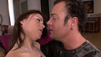 Big cock fucking and cumming inside a young slut 54 min
