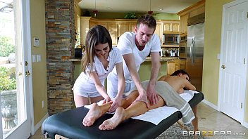 Brazzers - Sexy threesome massage