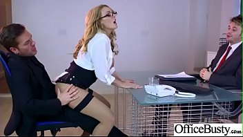 Bigtits Horny Office Girl (Stacey Saran) Like Hardcore Sex Action video-30