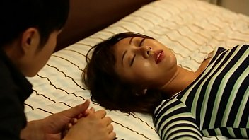 Korean Sex His wife invited her husband some with the boss.Watch full HD