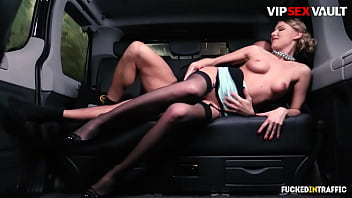 VIP SEX VAULT - #Lucy Heart - Sexy Russian Blondie Hot Banging With Daddy On Car