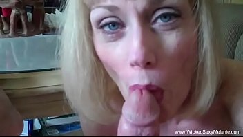 GILF Gulps Down The Cock And Cum