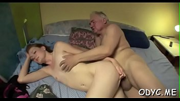 Free man naked young - Young floozy sucks old pecker