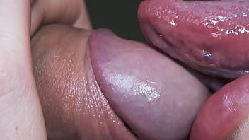 This horny girl licks my dick like a lollipo so sexy