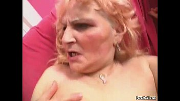Granny sex dildos - Sexy blonde granny prefers young dick