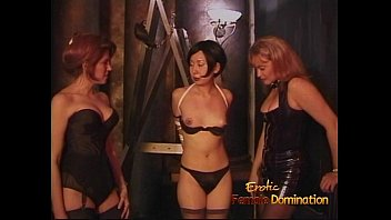 Asian females bdsm Three lusty sluts enjoy having some naughty fun with an asian chick